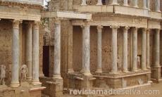Mérida en blanco romano
