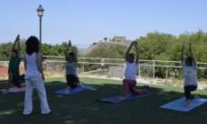 Día internacional del yoga en Montánchez